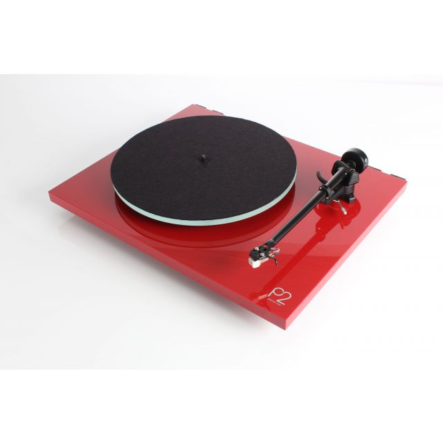 Rega Planar 2 Turntable - Gloss Red