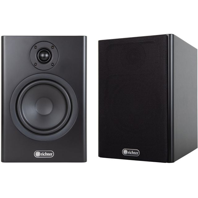 Richter Merlin S6 Speakers - Include magnetic grille covers
