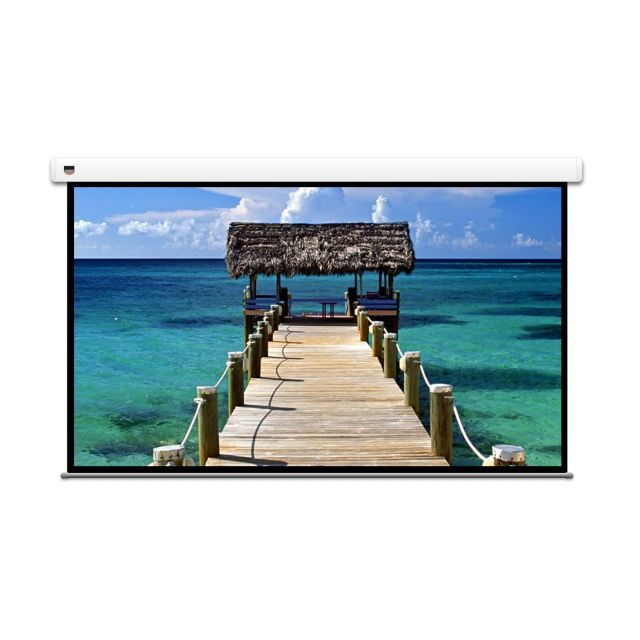 "Screen Technics View Master Pro 110"" - Motorised projector screen."