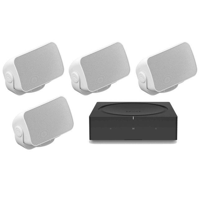 Sonos Outdoor Sound System (2 Pair)