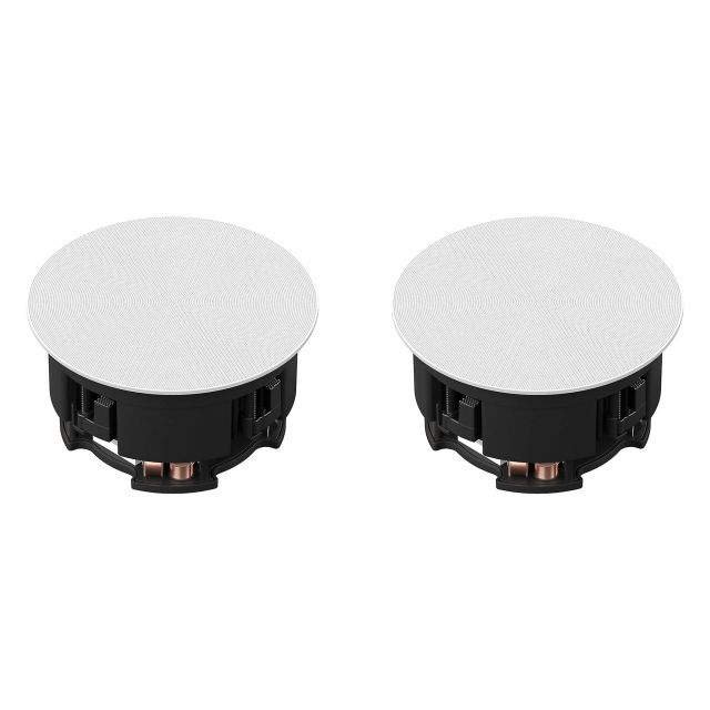 Sonos In-Ceiling Speakers - Top view (shown with grille on)