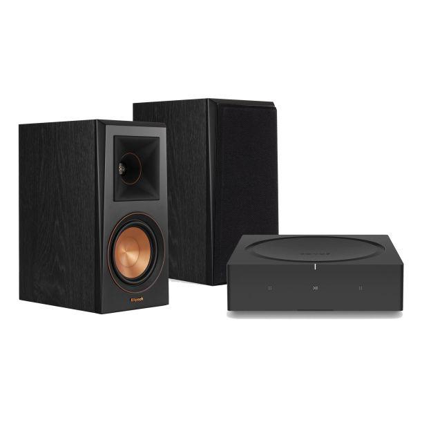 Sonos Streaming Amp & Klipsch RP-500M Speakers