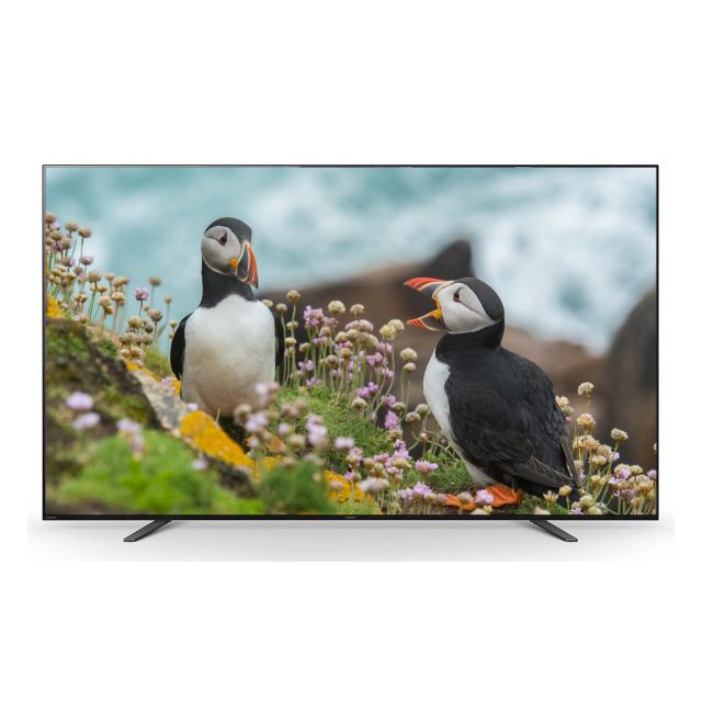 """Sony A8H 65"""" 4K Ultra HD Android OLED TV - Simulated image"""