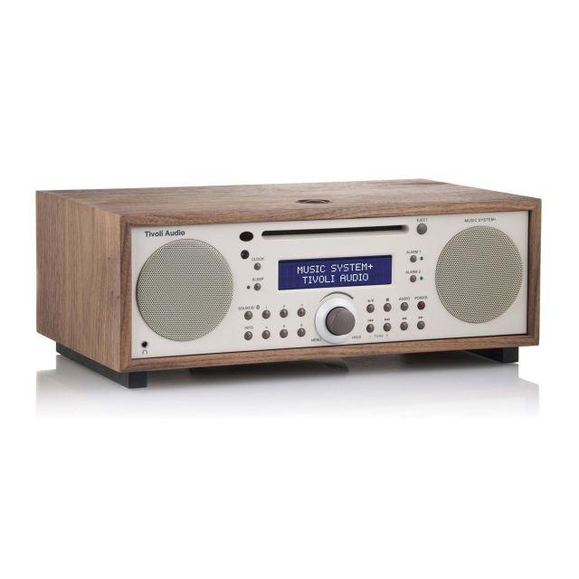 Tivoli Audio Music System+ - Walnut/Beige