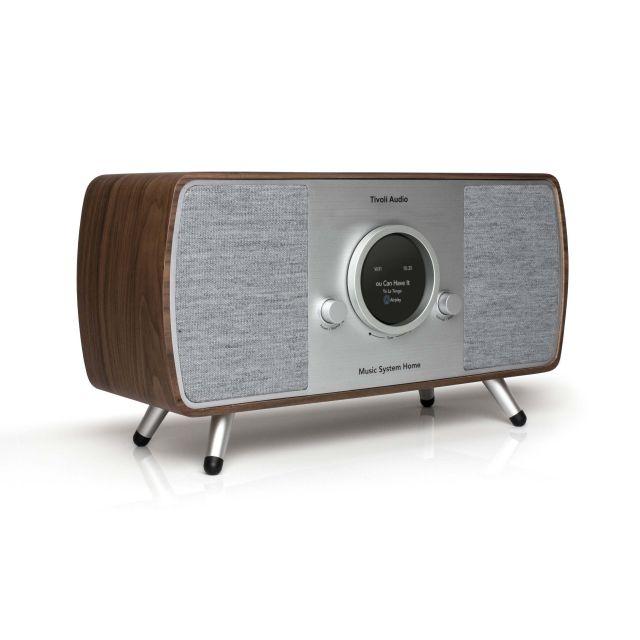 Tivoli Audio Music System Home Gen 2 - Walnut/Grey
