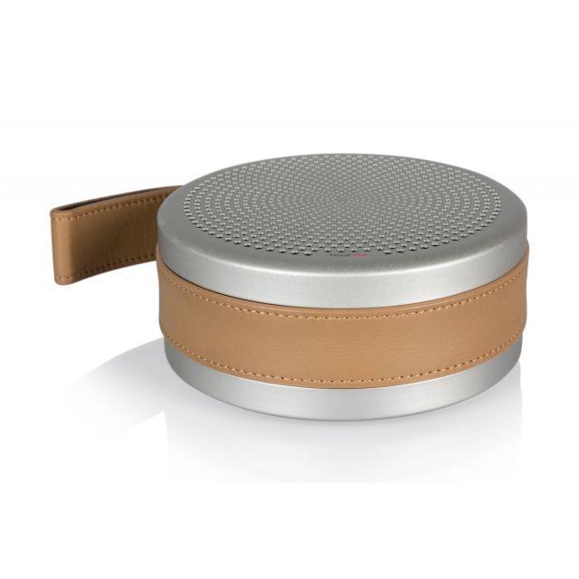 Tivoli Audio Andiamo Portable Bluetooth Speaker - Silver/Tan