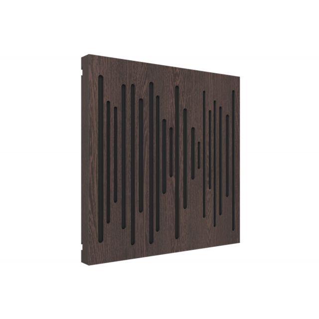 Vicoustic VicPattern Wavewood Ultra Acoustic Panel - Dark Wenge
