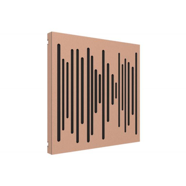 Vicoustic VicPattern Wavewood Ultra Acoustic Panel - Metallic Copper