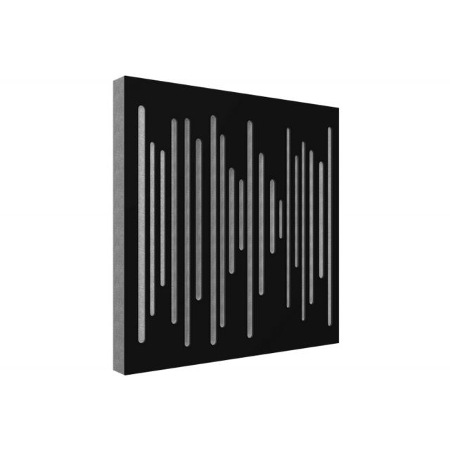 Vicoustic Wavewood Diffuser Ultra Acoustic Panels - Black Matte