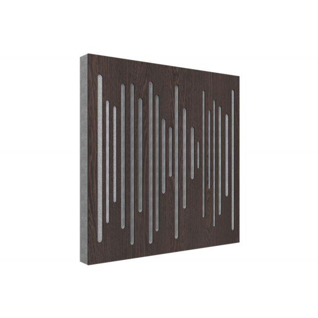 Vicoustic Wavewood Diffuser Ultra Acoustic Panels - Dark Wenge