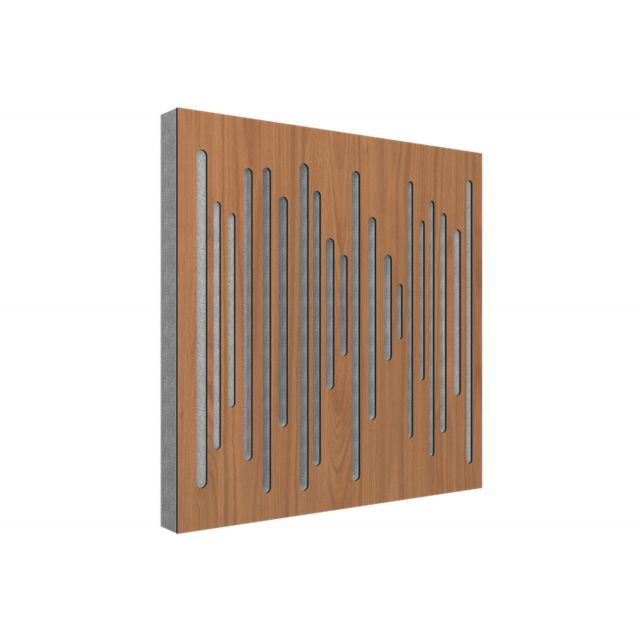 Vicoustic Wavewood Diffuser Ultra Acoustic Panels - Locarno Cherry