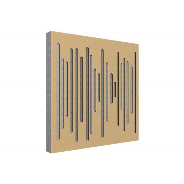 Vicoustic Wavewood Diffuser Ultra Acoustic Panels - Metallic Gold
