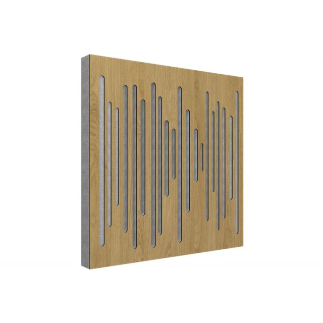 Vicoustic Wavewood Diffuser Ultra Acoustic Panels - Natural Oak