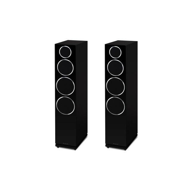 Wharfedale Diamond 240 Speakers - Shown on an angle