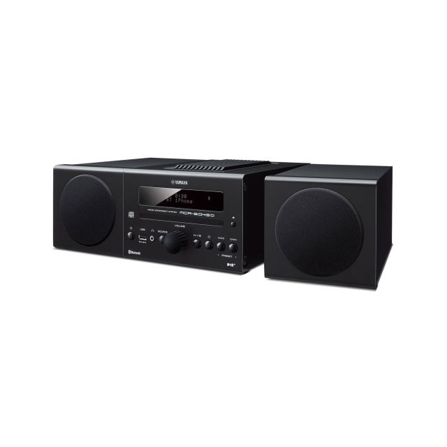 Yamaha MCR-B043D Micro Stereo System - Front view