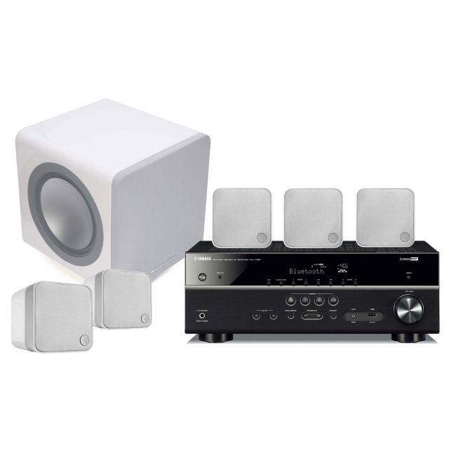 Yamaha and Cambridge 215 5.1 Surround Sound System