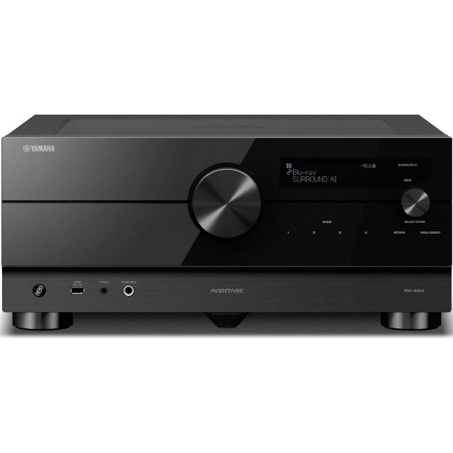 Yamaha Aventage RX-A6A Home Theatre Receiver - Front