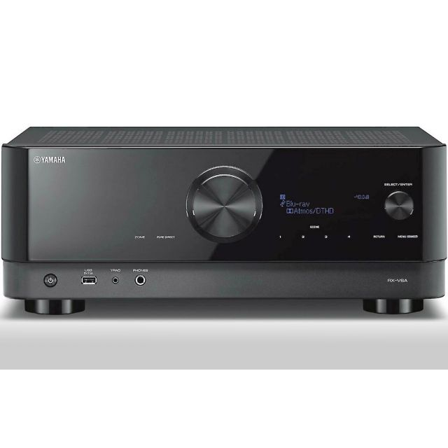 Yamaha RX-V6A 8K Home Theatre Receiver - Front
