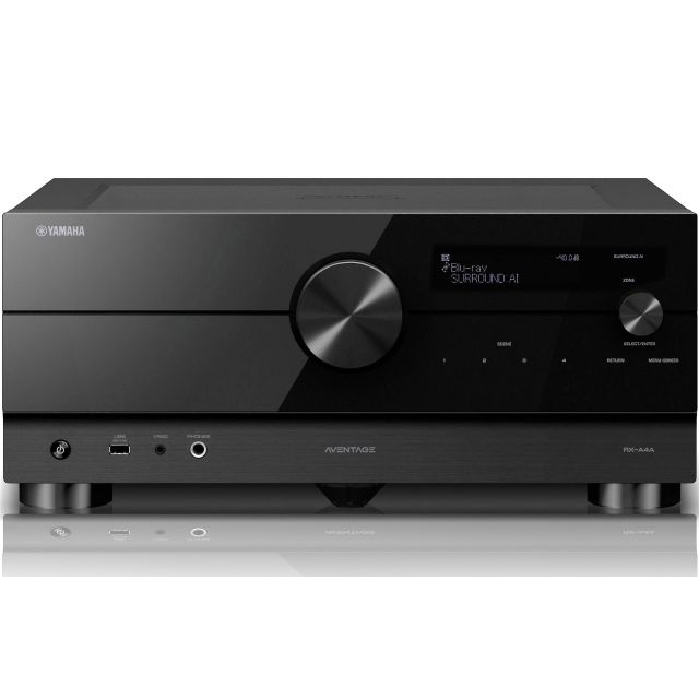 Yamaha Aventage RX-A4A Home Theatre Receiver - Front