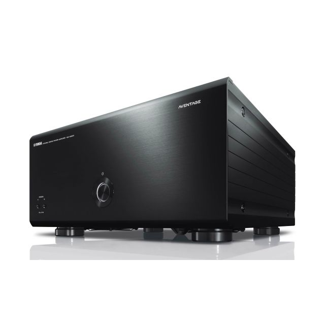 Yamaha Aventage MX-A5200B Power Amplifier - Front view.