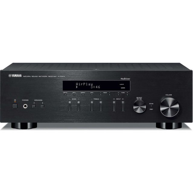 Yamaha R-N303D Network Stereo Receiver - Front view.